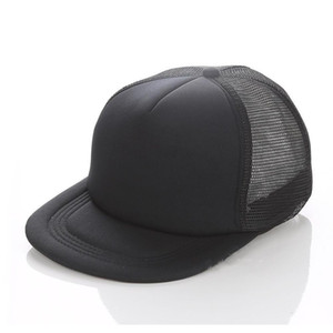 Plain Hip Hop Trucker Caps Blank Snapbacks Mesh Designer Hats Adjustable For Men Wome wmtuTT new_dhbest