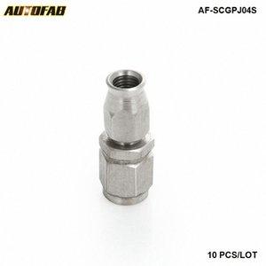 10PCS EPMAN AN -3 AN3 PTFE Swivel Hose final apropriado Hetero Adaptador de combustível AF-SCGPJ04S (10PCS) 37x0 #
