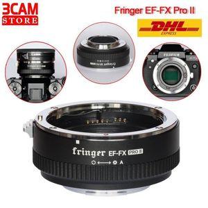 FRINGER EF-FX PRO II Адаптер линзы EF-FX II для объектива EF для адаптера Auto Focus совместимый X-H X-T X-Pro1