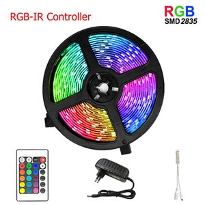 Wifi Ir Controller Rgb 5050 2835 Led Light Strip Rgb 5m 10m 15m 20m Tape Diode Dc 12v Remote Control Adapter Swy jllGai jhhome