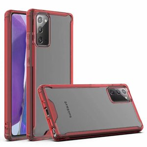 For Huawei Y5P Y6P Y8P Y8S Y9A MATE40 Pro+ P-SMART-2021-Y7A Translucent Acrylic Phone Case Cover Shockproof and Anti Drop Round Edge