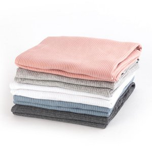 Newborn Swaddles Baby Solid Blankets Soft Cotton Thermal Blanket Kid Infant Photography Accessories Bedding Quilt Warm