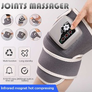 Electric massage knee vibration heating infrared heating back pad massage shoulder elbow support knee wrapping therapy massage