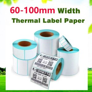 60-100mm width high-quality three-proof thermal label paper waterproof oil-proof anti-alcohol anti-scratch and stickiness strong