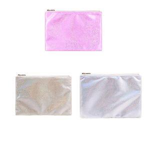 Diy Bag Sublimation Blank Storage Portable Anti Losing Package 16*23cm Handbag Makeup Woman Man Organizer 8 36yp K2