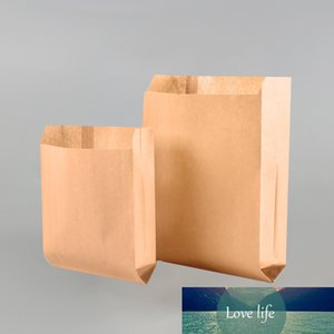 LBSISI Life Kraft Bread Paper Bag With Avoid Oil Love Toast Baking 50Pcs Paper Bag Takeaway Food Hand Made Package Bags
