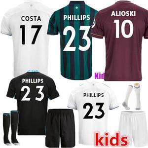 20 21 ليدز لكرة القدم الفانيلة المتحدة 2020 2021 كوخ COSTA Alioski فيليبس BAMFORD الرجال الأطفال TRAINING نسخة لاعب مشجعي كرة القدم قميص الزي الرسمي