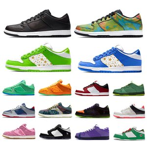 حذاء رياضي رياضي من sb dunk low Kasina للرجال حذاء رياضي حديقة المجتمع BE @ RBRICK Medicom Toy Civilist dunk Safari Casual Low women men shoes skateboard