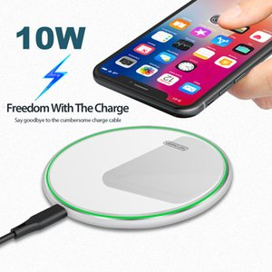 10pcs 15W 10W Mirror Wireless Charger For iPhone 11 X XS Max XR 8 Plus Qi Fast Quick Charge Pad For Xiaomi Mi9 Samsung XU-AB