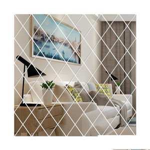 Diy 3d Mirror Wall Stickers Acrylic Art Room Bedroom Living Room Home Decor Decals Mural Painting Removable Modern jllmTW mx_home