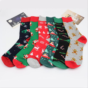 Noel Çorap Karikatür Çorap Noel Baba Bira Printted Çorap Erkekler Rasgele Karikatür Noel Çorap Noel Sport Ana Çorap Hediye DHF1151