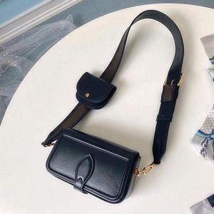 cuir véritable sac bandoulière double jeu sac à main de sac à bandoulière de mode pour les hommes presbytes mini-sac à bandoulière paquet dame gros