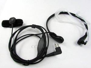 2-контактный FBI Безопасность Микрофон Микрофон Микрофон Серкон Гарнитура для Двухсторонних CB Radio Motorola CP040 CP125 CP200 CP140 EP450 GP3001