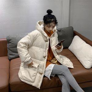 Winter Jacket Women's Woman Cloth 2020 Korean White Duck Down Coat Female Hooded Parkas Autumn Thick Warm Coats Jackets 888