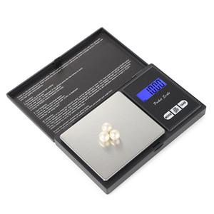 Tasche digitales Maßstab Balance Gewichtskalen 4 Spezifikation Silbermünze Gold Diamant Schmuck Wiegen Sie keinen Akku elektronische Maßstab LLA64