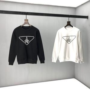 2020 otoño invierno moda europa italia triángulo estampado sólido logotipo personas jersey sudadera con capucha hombres mujer sudadera con capucha