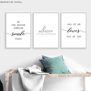 Love Simple Quote Text Quotes Wall Art Canvas Poster Nordic Minimalist Life Print Painting Picture for Living Room Decor
