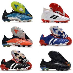 Scarpe Predator Mutator 20+ FG Predator Archive Edizione limitata Mens Slip-On del calcio di calcio 20 + x Cleats Boots predatore mania
