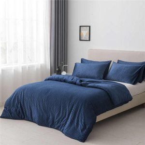 Bubble Fleece Bedding Sets Single Double Queen Bed Comforters Quilts Duvet Cover Weighted Gravity bedding sets