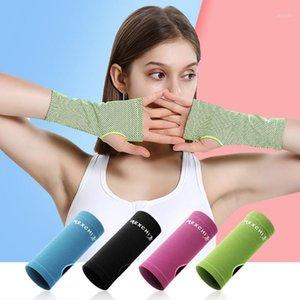 Запястье Brace Поддержка Дышащееся Ледяное охлаждение Спортивное Брасленное Долшение Wrap Gym Yoga Ручная Поталка Велоспорт Бедовые Перчатки1
