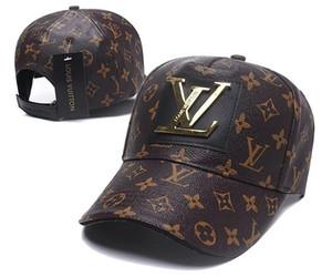 New style Long brim Golf Baseball Cap Classic HipHop bone pu Leather Snapback Hats for Men Women Adjustable Gorras Casquette Sun hat 13Color