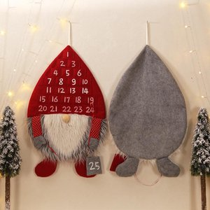 Wald Man Countdown Weihnachten Kalender kreative Weihnachtsdeko Faceless Old Man Countdown Calendar Christmas Ornaments DHA2216
