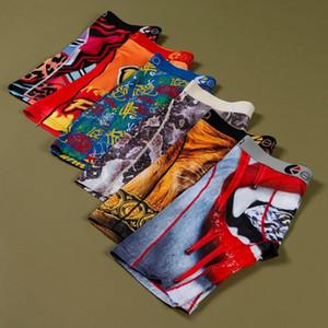 En stock Top Mode Ethika Mens Boxers Mens Designer Sous-vêtements Sous-vêtements Coton respirant Boxers Sous-fonds Homme Panties Sèche rapide Sèche 02