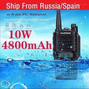 Walkie Talkie 2021 10W Baofeng UV-9R Plus Waterproof Two Way Radio Long Range 25km Cb Comunicador Uv 9r Plus1