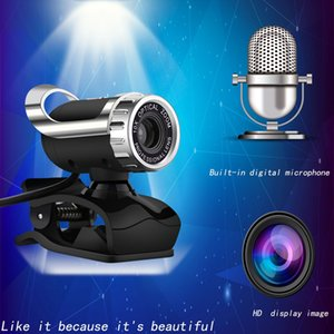 USB Computer Camera Manufacturers Notebook Camera with Night Vision Function Microphone Microphone Webcam Custom Live Teaching Hot Sale-