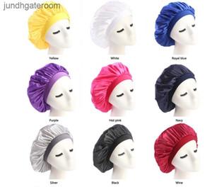 FactoryIU2UScarf Turban New Muslim Sleep Hat Women Stretch Silky Bonnet Chemo Beanies Caps Cancer Headwear Head Wrap Hair Loss Acce