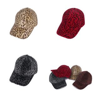 Erwachsene Hip Hop Baseballmütze Für alle Jahreszeiten Geeignet für alle Jahreszeiten Männer Frauen Leopard Print Mode Peaked Caps Atmungsaktiv weiche Neue Ankunft 10MHA J2