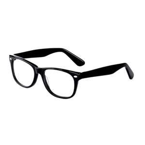 Retro Classic Acetate Eyeglasses Optical Women Vintage Glasses Frame Clear Lens Eyewear Men Black Brown Tortoise Eye Glass