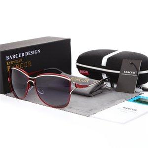 BARCUR Polarized Sunglasses Women Square Gradient Sun glasses for Lady