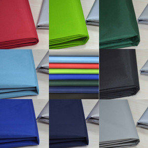 free shipping 1M*1.75M wide 210D silver coated waterproof fabric for tent sunshade UV resistance fabric