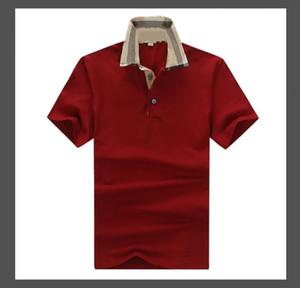 2021 Stripe Stripe T-shirt T-shirts Nouveaux T-shirts pour hommes Broderie florale Mens High Street Fashion Horse T-shirt Polo
