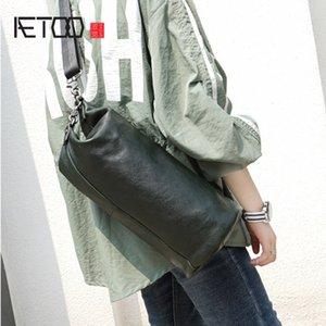 HBP AETOO NETOO Trend Retro Handmade Howhide Beake Bage Кожаная сумка Crossbody Сумка повседневная мужчина и женский универсальный многофункциональный сундук