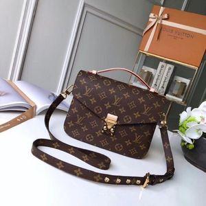 2020 Ladies pochette imprimé carré Sac en cuir Double fermeture à glissière cosmétiques sac à main femmes Wallet Michael Sacs à bandoulière bourse d'embrayage