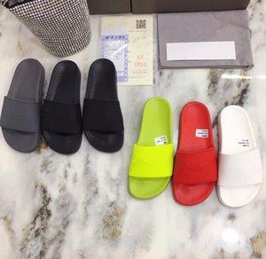 2021 new Designer slipper mens slide striped sandals causal Non-slip summer slippers flip flops slipper YX201228