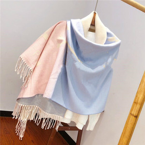 2020 Classic Design cashmere scarf For Men and Women Winter cashmere scarfs Big Letter pattern cashmere Pashminas Shawls scarves