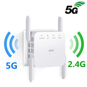Wifi Repeater 5Ghz Wifi Extender 5G WiFi Amplifier 1200Mbps Router Wi fi Booster Long Range 5G Wi-fi Repeater Pro
