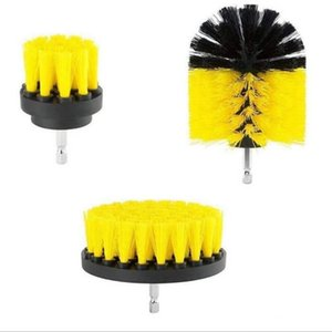 Power Scrub Brush Drill Cleaning Brush 3 pcs lot For Bathroom Shower Tile Grout Cordless Power Scrubber Drill Attachment Brush A325
