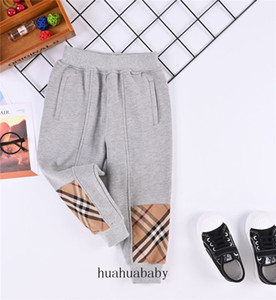 Unisex Cargo Pants Kids Cross-pants Free Shipping Hot Sale High Quality Long Style Grid Trousers For Child