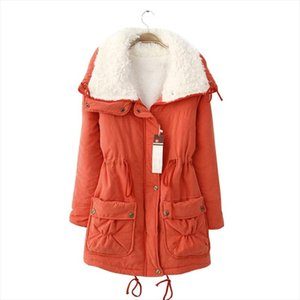 Thick Fleece Winter Jacket Women Warm Winter Coat Casual Slim Cotton Padded Ladies Parka Tunic Long Parka Outerwear Manteau 3XL