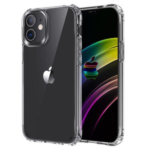Crystal Hard PC Transparent Clear Acrylic Phone Case For iPhone 12 mini 12 11 Pro Max XS XR XS MAX Cover