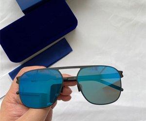 Lunettes de soleil New MYKITA MIKKO Fashion Square Cadre avec miroir Objectif ultra cadre léger Mémoire lunettes en alliage cool Outdoor Design Venez avec la boîte