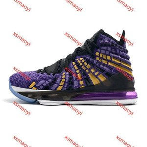 2020 high quality 17 17s Mens Basketball Shoes Sneakers Red Carpet Lakers 2K In the Arena Signature Pink New Arrival 40-46