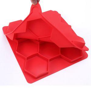 Hamburguesa Molde de la prensa Molde de la hornada de silicona DIY BURGER CARNE Forma Maker Barbacoa Moldes para hornear Moldes para hornear Cocina Hogar Herramienta de cocción EEF4223