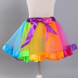 2020 New Fashion European And American Temperament Color Mesh Tulle Tulle Ballet Tutu Womens Mini Skirt High Quality