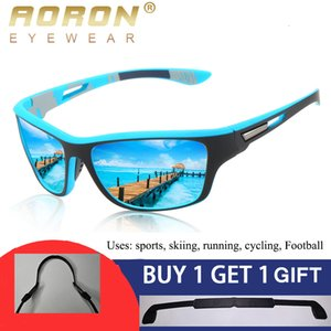 Aoron New Men Polarized Sunglasses Outdoor Sports Windproof Sand Goggle Sun Glasses Uv Protection Anti-glare Male Eyewear