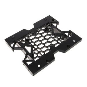 Chasis de escritorio Optical Drive Bracket 5/25 a 3/5 pulgadas 2.5 SSD Conversión Shelf